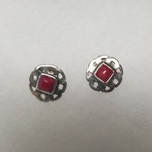 Silpada Lady in Red Earrings